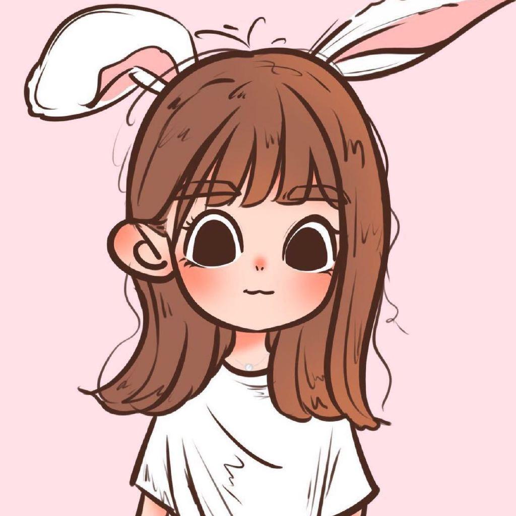 赞 兔兔手绘头像 奇异果 复出接画啦,私我约画哦.
