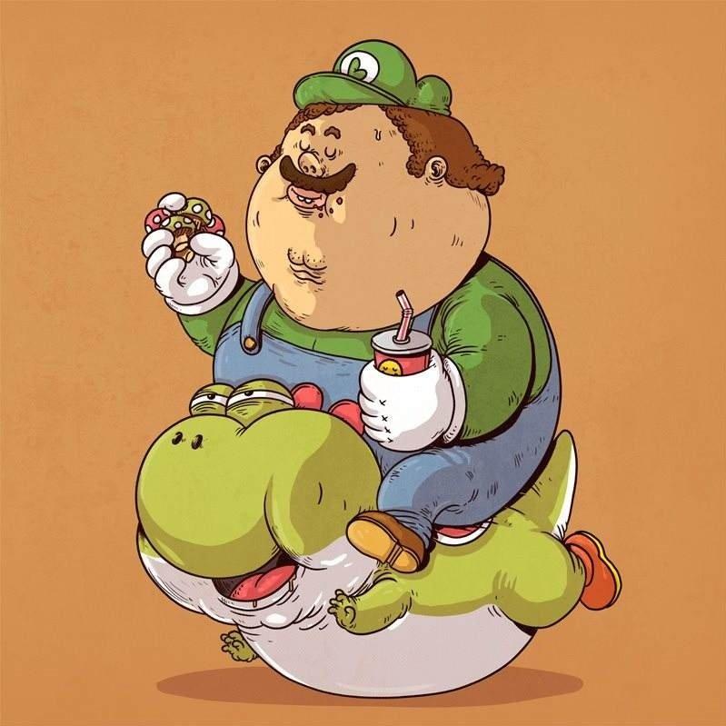 是胖子还是个吃货