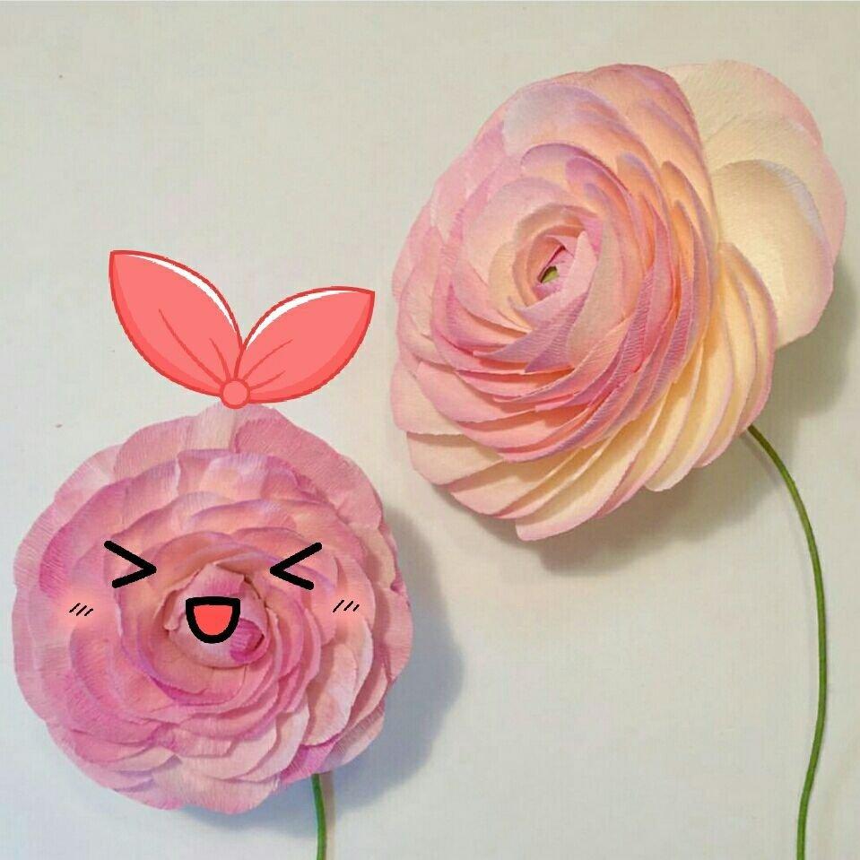 酒杯玫瑰制作视频#ins花花分享##手工[超话]#diy纸花#皱纹纸花[超话]