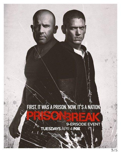越狱第五季的海报