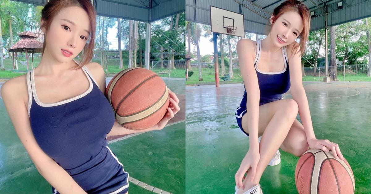 户外篮球场惊见「马尾正妹」! 好身材,姣好外貌和出众身材让人印象深刻!