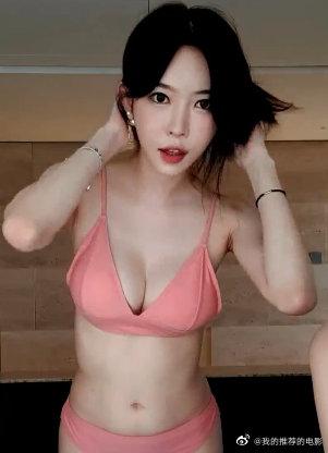 韩国女主播泳池秀20200812
