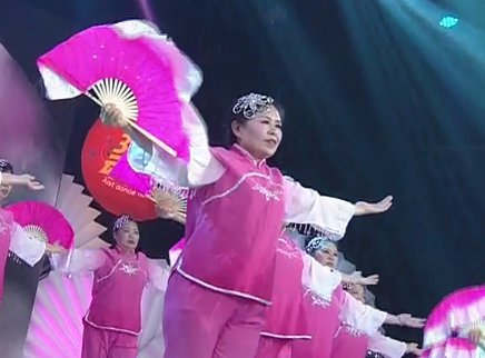 广场舞《绒花》