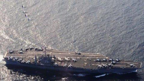 美航母五代机全被发现
