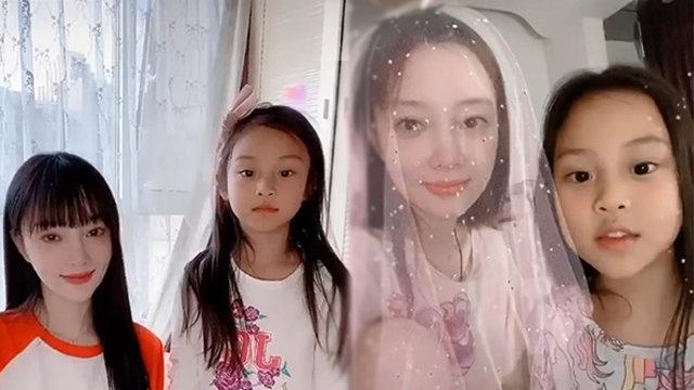 甜馨穿睡衣出镜抢仙女头纱 赵本山现身女儿直播间感谢粉丝
