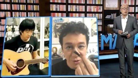 疫情下的在线教育 音乐人在家玩起卧室摇滚