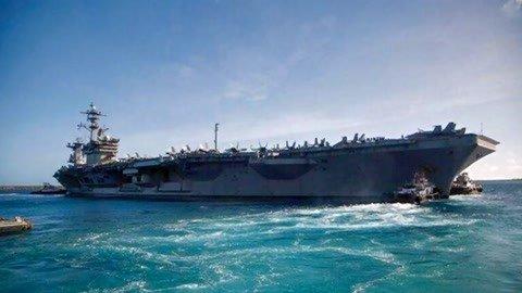 美核航母开始出海部署