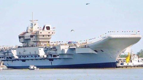 印航母开工15年还没服役