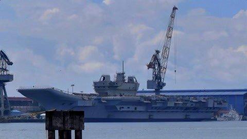 印国产航母遭遇重大挫折