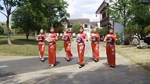 中老年模特旗袍秀表演
