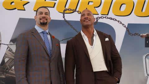 WWE巨星参观速度与激情拍摄地