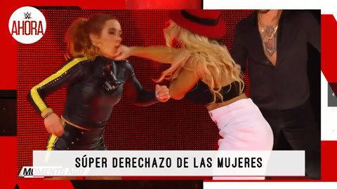 WWE一周大事件:贝基遭莱西重拳打脸