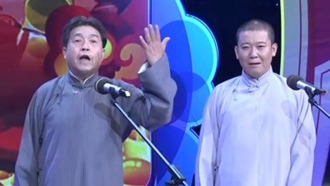 刘洪欣携徒弟讲述《交友之道》 相声《三国人物论》