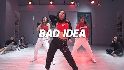 QTT编舞《Bad Idea》,活力性感