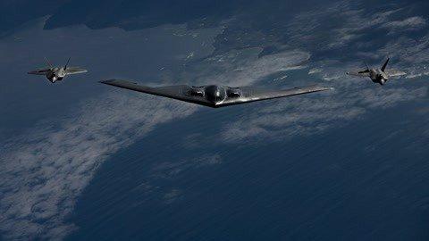 全球最强轰炸机部署欧洲
