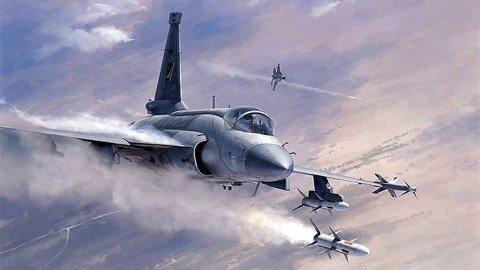 米格21逼近领空遭巴拦截