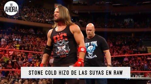 WWE精彩串烧:冷石怒揍嘴炮AJ