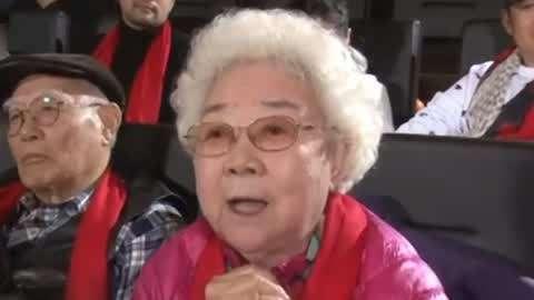 《白毛女》喜儿扮演者田华 91岁高龄但永远青春