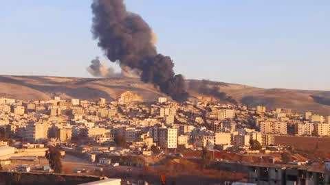土耳其战机空袭叙利亚