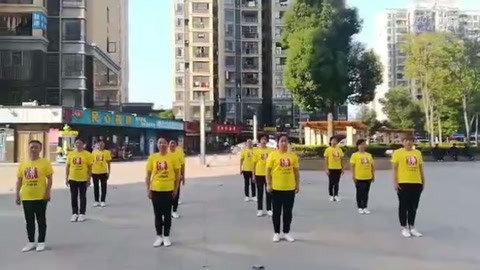 广场舞《中国同心圆》