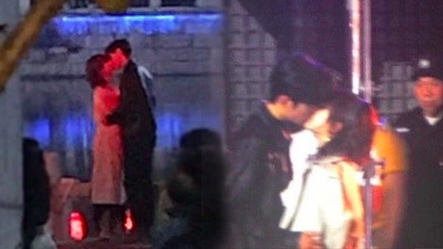 《余生》路透杨紫肖战甜蜜热吻 杨超越生图如精修白到发光