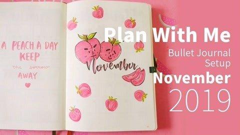 跟我一起画11月手帐