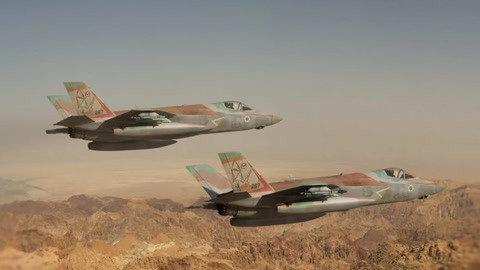 多国F35战机集结待命