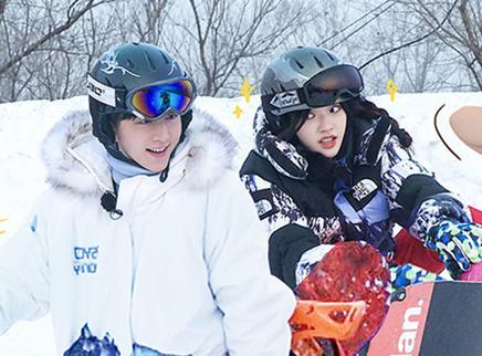 07期:林允张新成滑雪出意外?