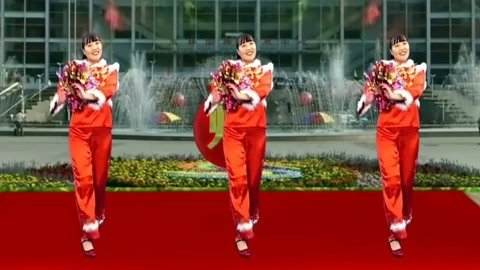 花球舞《喜庆新年乐》