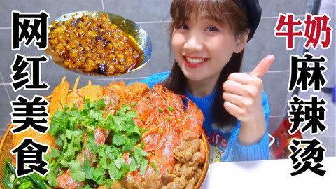 密子君·不出门也能吃杨国福!煮一锅牛奶麻辣烫,好吃到打嗝