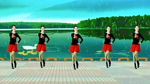 水兵舞想让雨滴问问你