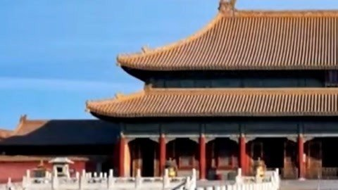 经典传奇之老照片隐藏紫禁城数字密码 布局规律体现皇家威严