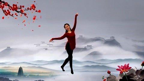 广场舞《西窗烟雨》