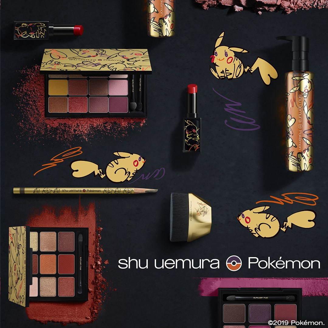 植村秀 shu uemura Pokemon 精灵宝可梦Ilc