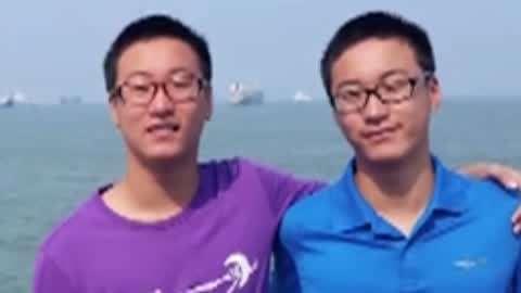 双胞胎高考成绩超700分 高中没上过补习班