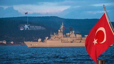 大批军火船抵达中东