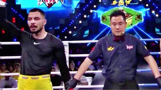 环球拳王争霸赛70公斤级金腰带争夺战