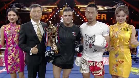 环球拳王争霸赛 中国选手王博士将对手打得无还手之力