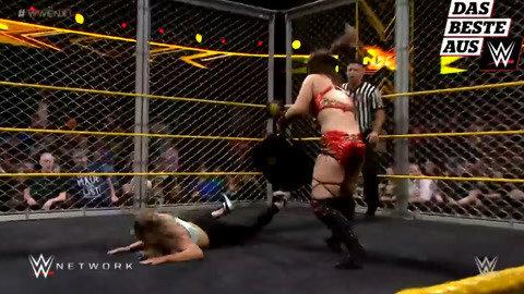 WWE经典回顾 女子铁笼中发疯互殴
