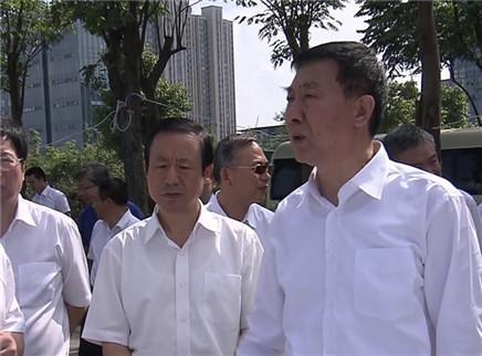 王勇在湖南考察指导防汛救灾工作