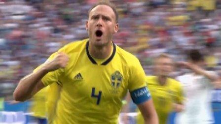 【极酷体验】太极虎迎战北欧强敌 格兰奎斯特点球破门 瑞典1-0战胜韩国
