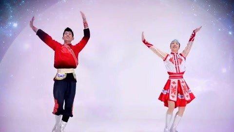 广场舞月亮知道蒙古舞