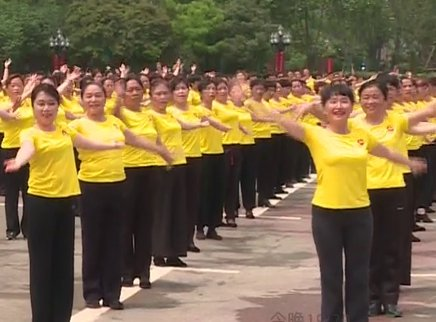 广场舞《美丽的大中国》