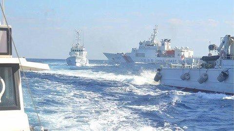 钓鱼岛爆发激烈冲突