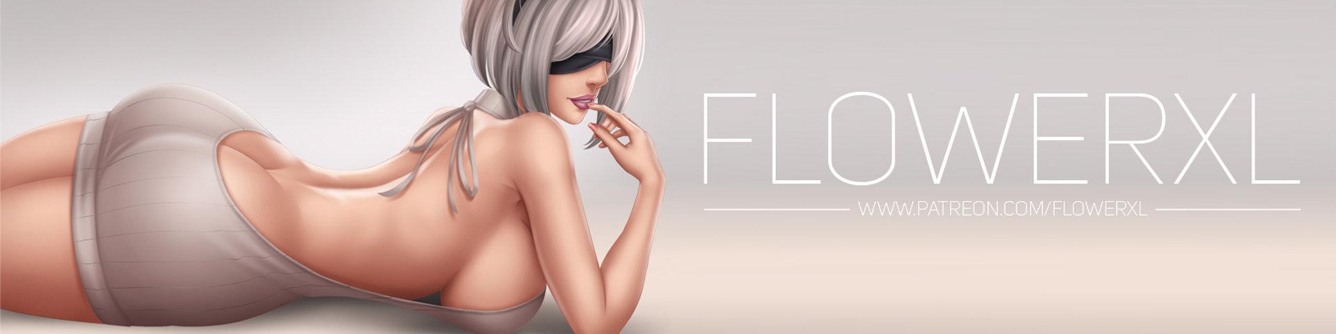 画师flowerxl插画