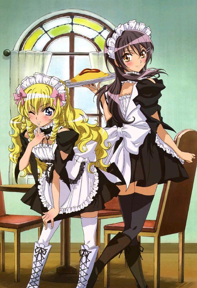 学生会长是女仆