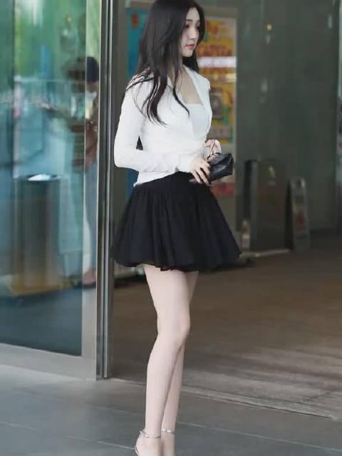 丝袜美腿这长腿又白又直