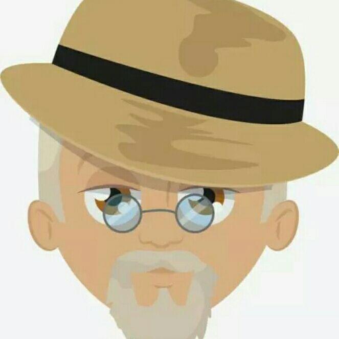 老翁:山村一老人。