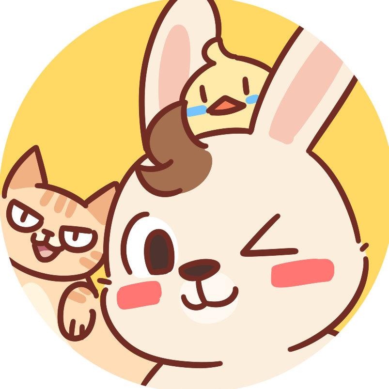 呆毛兔Damon
