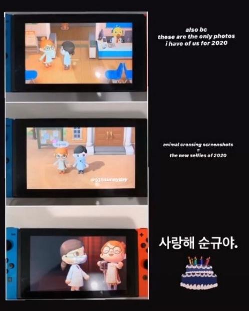 因新冠疫情影响! Tiffany不能飞到韩国替Sunny庆生,Tiffany居然在游戏中做了这件事!插图4